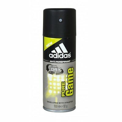 Adidas Pure Game 48H Cool & Dry 150Ml Anti-Perspirant Body Spray For Him