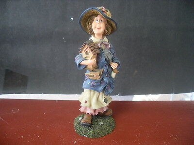 Boyds Bears Folkstone Collection Tilly T Weedsley Gardener Extraordinaire #1191