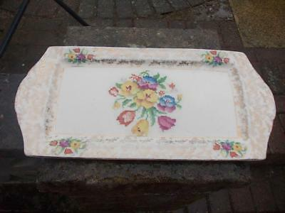 H&k Tunstall Sandwich Plate With Tapestry Pattern
