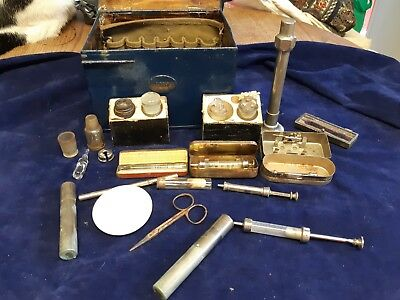 Antique medical kit possibly for anesthesia 1930's