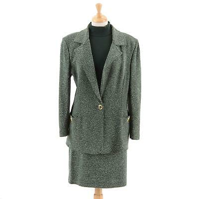 ST JOHN Collection by Marie Gray Womens 3 Pc Skirt Suit w Blazer & Sweater Sz 12