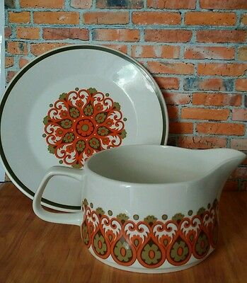 Vintage ~ D & G Meakin MADRID - Jug / Gravy / Sauce Pot and Plate