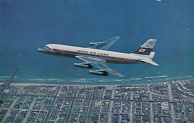 Japan Airlines Jet airplane, 60-70s