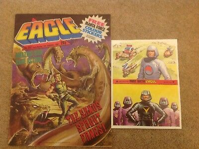 Eagle Comic with free gift, No. 287, 19 September 1987 - Manta Force Stickers
