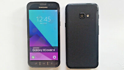 Samsung Galaxy Xcover 4 in Black Handy Dummy Attrappe - Requisit, Deko, Muster