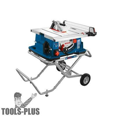"Bosch 4100-10 10"" Worksite Table Saw with Gravity Rise Stand New"