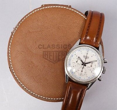 FINE TAG HEUER Chronograph Wristwatch Carrera 1964 Re-edition Ref  CS3110-BC0725