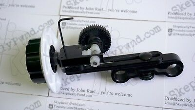D/Focus V3 Follow Focus for camcorders and DSLRs