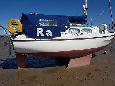 23 foot WESTERLY PAGEANT SAIL BOAT