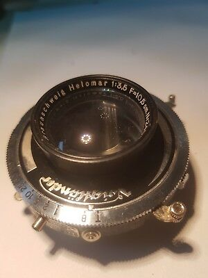 Compur Rapid shutter With Helomar 1; 3.5 f= 10.5 cm lens [For Voigtlander RF]