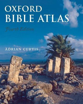 Oxford Bible Atlas by Adrian Curtis 9780199560462 (Paperback, 2009)