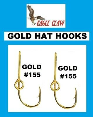 d688163c25cc6 EAGLE CLAW CAMO HAT HOOK NEW! Hat Pin Tie Clasp  155A-CAMO FISH HOOK ...