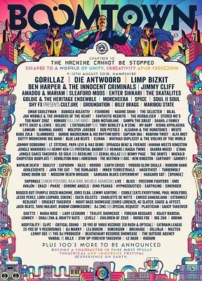 Boomtown Festival Ticket Chapter 10 Coach 2018