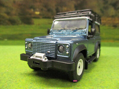 Britains Blue Land Rover Defender 90 Station Wagon Play Set 1/32 43217