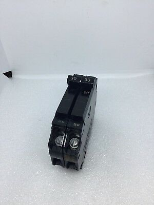 Ge Thqp3030, 30 Amp 2 Pole Tandem  Circuit Breaker  Thqp230