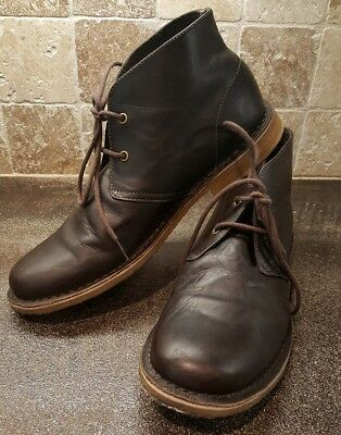 Men's Ugg Leighton Leather Chukka Ankle Boots Size 11
