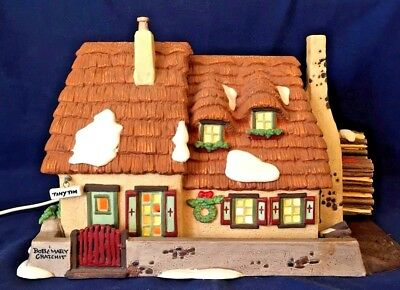 The Christmas Carol Cottage Dept 56 Dickens Village 58339 Heritage Victorian A
