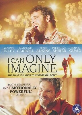 I Can Only Imagine Feature Film + Special Features (DVD, 2018)