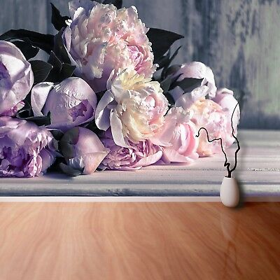 Non woven Wall Mural Photo Wallpaper Poster Picture Image Peonies Bouquet