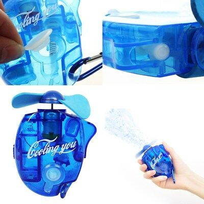 Portable Mini Hand held Cooling Cool Water Spray Misting Fan Mist Travel Beach