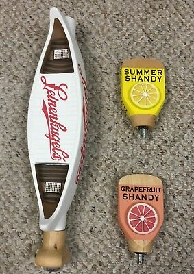 NEW - 2018 Leinenkugel's Grapefruit Summer Shandy Tap Handle - Super Rare!!