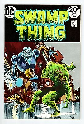 DC Comics SWAMP THING #6 Oct 1973 vintage comic NM condition