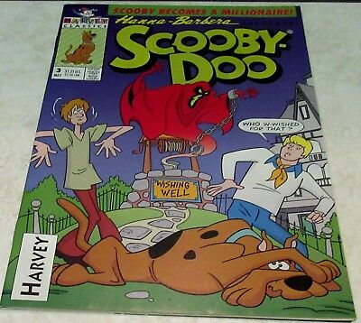 Hanna-Barbera Scooby-Doo 3, (NM 9.4) 1993 Harvey! Very Rare book!