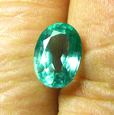 1.28 ct Natural Earth Mined Emerald Certified No Reserve