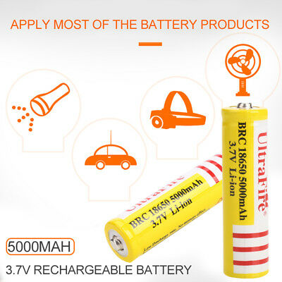 High-Capacity 1pcs 3.7V Laptop Rechargeable Cell Battery 18650 Li-Ion Battery