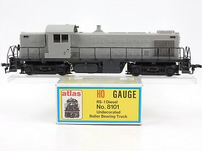 HO Scale Atlas Kato 8101 Undecorated RS-1 Diesel Locomotive Unpainted Model