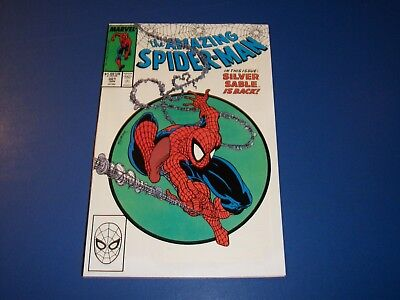 Amazing Spider-man #301 Key McFarlane Issue  Silver Sable VF+ Beauty
