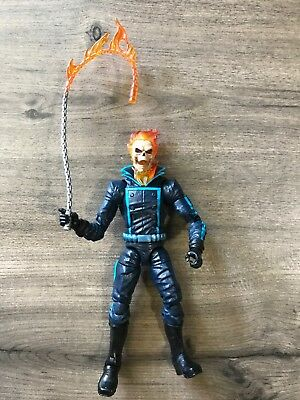 "*HOT* Marvel Legends Series 6"" Ghost Rider Cycle Loose Hasbro Figure! BAF L@@K"