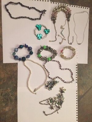 Large Lot Of Vintage To Now Costume Jewelry