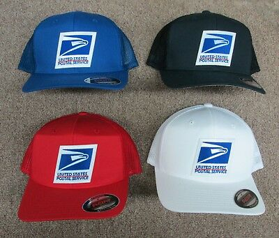 USPS United States Postal Service  Flex fit Mesh caps by Yupoong