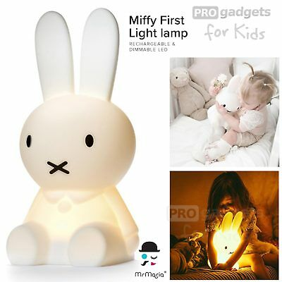 Genuine Mr Maria Miffy Rabbit Rechargeable & Dimmable LED First Light Lamp