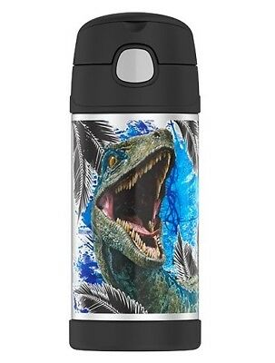JURASSIC WORLD Thermos® FUNtainer Stainless Steel Insulated 12 oz. Drink Bottle
