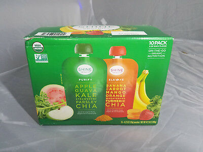 Shine Organics Purify and Elevate Multi-Pack 4.22 oz. ea., 10 ct. MUST GO