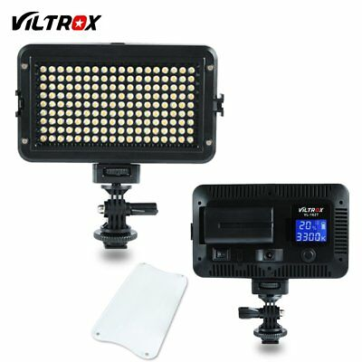 Viltrox VL-162T LED Slim LCD Bi-Color Dimmable Wedding Studio Video Light Lamp