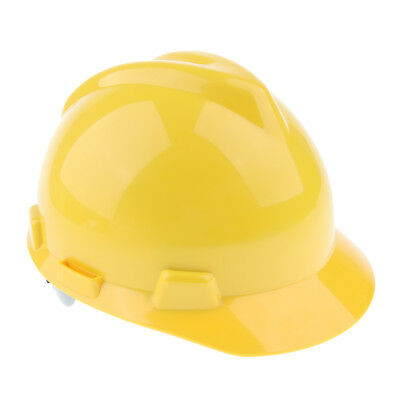Hard Hat Adjustable Forestry Safety Helmet Work Protective Bump Cap -Yellow