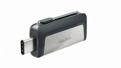 SANDISK ULTRA DUAL TYPE-C USB 130MB/sec 16GB USB FLASH DRIVE NEW st