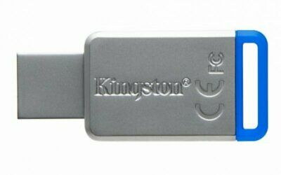 KINGSTON DATATRAVELER 50 DT50 USB 30MB/sec Read 5MB/sec Write 64GB USB3.1 USB st