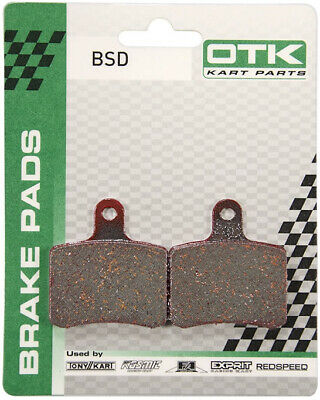 TonyKart (OTK) 2017 BSD Racer 401S Brake Pad Set Go Kart Karting Race Racing