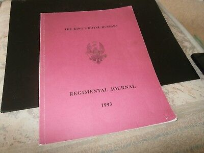 King's Royal Hussars Regimental Journal  1993