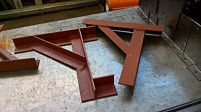 Gallows /chimney Support Brackets  Heavy Duty Cheapest On Ebay Tested To 3200Kg