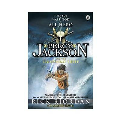 Percy Jackson and the Lightning Thief by Rick Riordan (author)