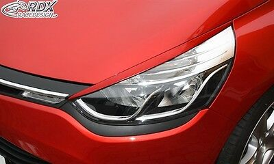 Race Design Headlight Brows Eyelids Eyebrows For Renault Clio 4 X98 2012 Onwards