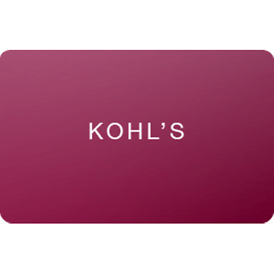 Kohls Gift Card $100 Value, Only $95.00! Free Shipping!