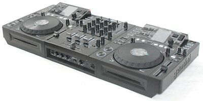 GEMINI CDMP-7000 DJ Workstation Desk_Touch TFT_2x CD Player_USB_MP3_MIXER_EQ_NEU