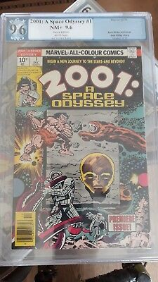 Marvel_2001 Space Odyssey_#1 PGX 9.6_Dec 1976_NM condition_Pence
