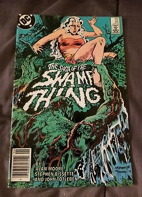 Dc The Saga Of Swamp Thing #25 John Constantine Appearence Excellent June 1984
